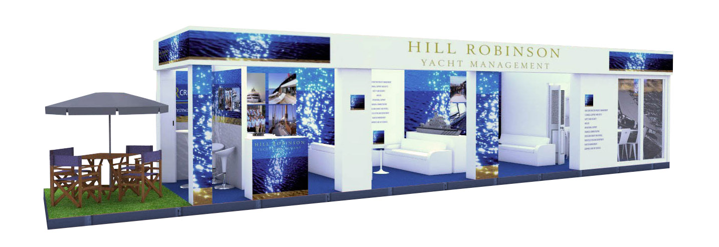Monaco Yacht Show Stand