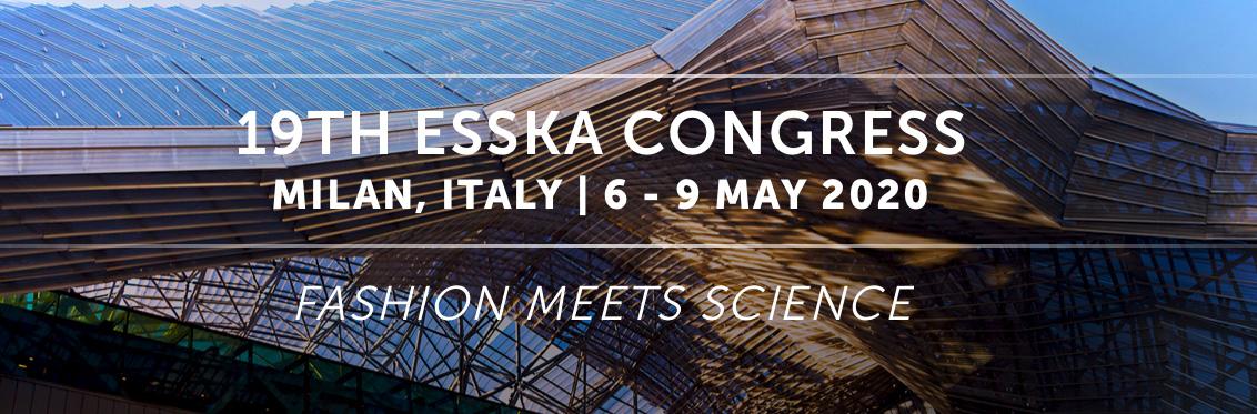 ESSKA Congress Milan 2020